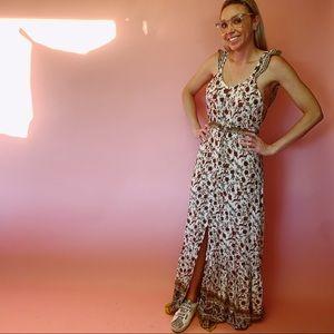 Sans Souci Floral Design Maxi Dress